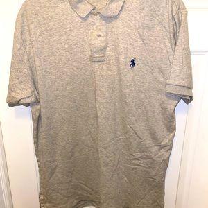 Gray/Navy Ralph Lauren Polo Shirt